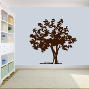 SweetumsWallDecals Storybook Tree Wall Decal; Brown