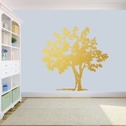 SweetumsWallDecals Storybook Tree Wall Decal; Gold