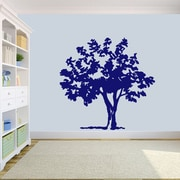 SweetumsWallDecals Storybook Tree Wall Decal; Navy
