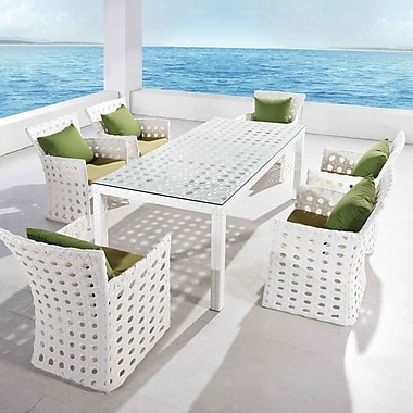 Ceets Orchard 7 Piece Dining Set w/ Cushions