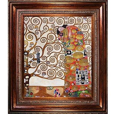Tori Home Fulfillment Metallic Embellished by Gustav Klimt Framed Painting Print