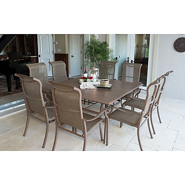 Panama Jack Island Breeze 9 Piece Dining Set