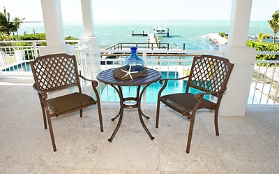 Panama Jack Island Breeze 3 Piece Dining Set WYF078277988166
