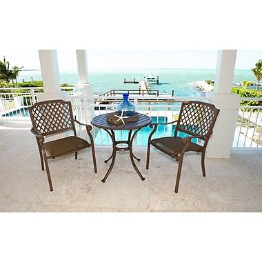 Panama Jack Island Breeze 3 Piece Dining Set