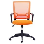 Porthos Home Angelina Mesh Desk Chair; Orange
