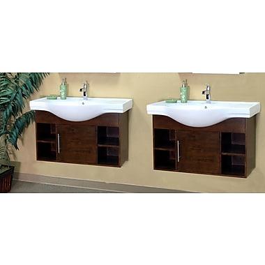 Bellaterra Home Langdon 81'' Double Bathroom Vanity Set