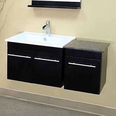 Bellaterra Home Fairfax 40'' Single Wall-Mounted Bathroom Vanity Set