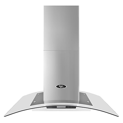 LessCare 36'' 900 CFM Ducted Island Range Hood WYF078278674406