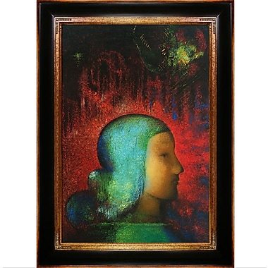 Tori Home Joan of Arc by Odilon Redon Framed Painting Print