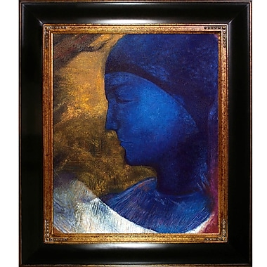 Tori Home The Golden Cell 1892 by Odilon Redon Framed Painting Print