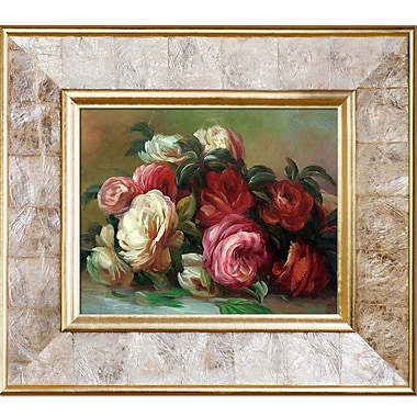 Tori Home Discarded Roses by Pierre Auguste Renoir Framed Painting Print