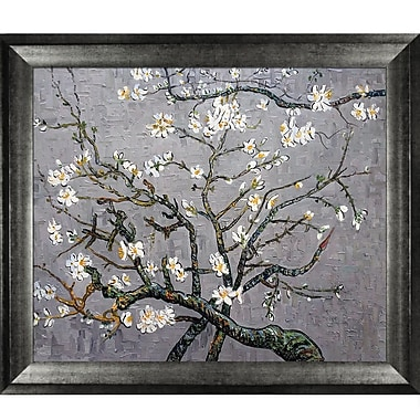 Tori Home Branches of an Almond Tree in Blossom by Vincent Van Gogh Framed Painting Print
