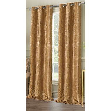 Dainty Home City Garden Curtain Panels (Set of 2)