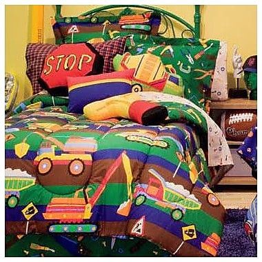 Royale Linens Tyler's Toy Chest Bed-In-A-Bag Set; Twin