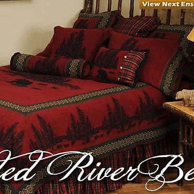 Wooded River Wooded River Bear 7 Piece Coverlet Set; California King