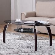 Hodedah Coffee Table; Black