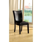 A&J Homes Studio Lari Side Chair (Set of 2); Black