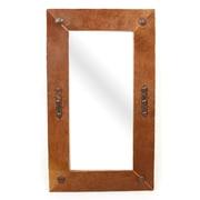 MyAmigosImports Laredo Cowhide Rustic Mirror