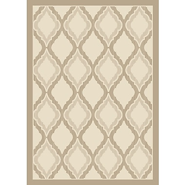Art Carpet Dexter Beige Area Rug; 6'7 x 9'2