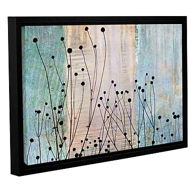 ArtWall 'Dark Silhouette II' by Cora Niele Framed Graphic Art on Wrapped Canvas; 32'' H x 48'' W