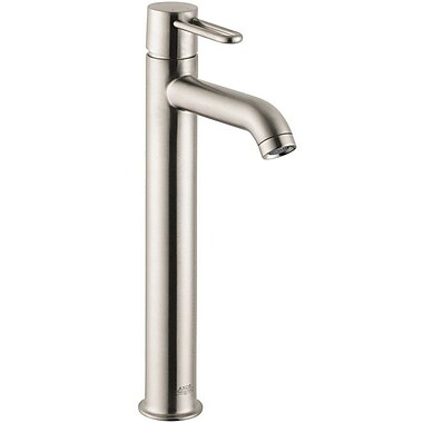 Axor Axor Uno Single Hole Standard Bathroom Faucet; Brushed Nickel