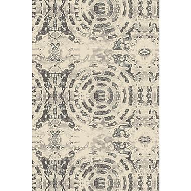 Art Carpet Chelsea Gray/Beige Area Rug; ROUND 7'10