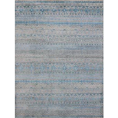 AMER Rugs Feza Aqua Blue Area Rug; 8' x 10'
