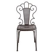 Creative Co-Op Garden Metal Side Chair