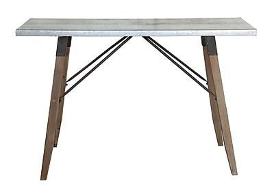 Creative Co-Op Honey 16'' Rectangular Folding Table