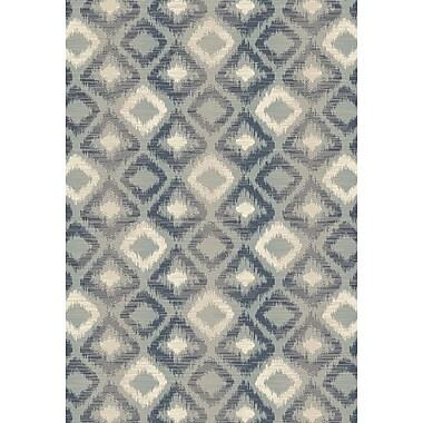 Art Carpet Chelsea Gray Area Rug; ROUND 5'3