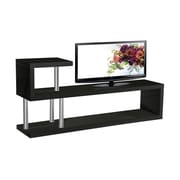 BestMasterFurniture Hollow 71'' TV Stand; Black