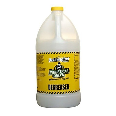 Bebbington Industrial Green Degreaser, 4L, 4/Pack