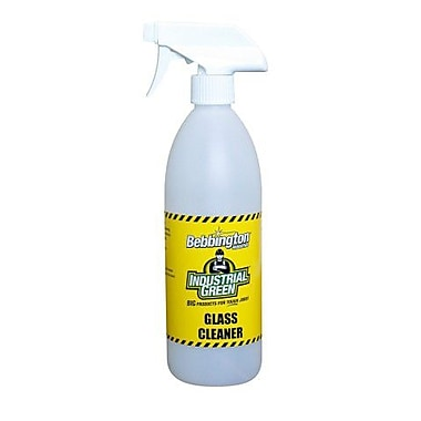 Bebbington Industrial Green Glass Cleaner, 650ml, 8/Pack