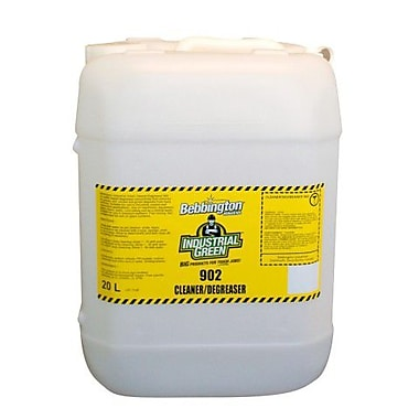 Bebbington Industrial Green Cleaner/Degreaser 902, 20L