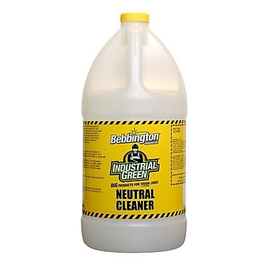 Bebbington Industrial Green Neutral Cleaner, 4L, 4/Pack