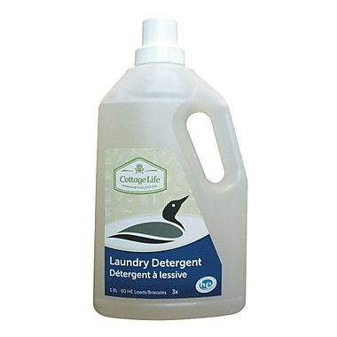 Cottage Life Laundry Detergent, 1.8L, 4/Pack