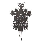 Creative Co-Op Smudge Metal Cuckoo Clock