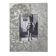 Creative Co-Op Garden Embossed Tin Picture Frame