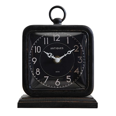 Creative Co-Op Turn of the Century Table Clock