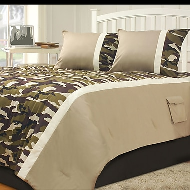 Hallmart Kids Camp Dynasty Comforter Set; Full