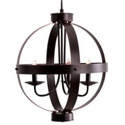 Catalina Lighting 3-Light Candle-Style Chandelier