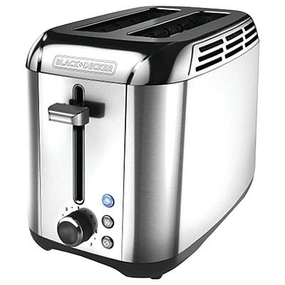 Black + Decker 2-Slice Rapid Toast Toaster
