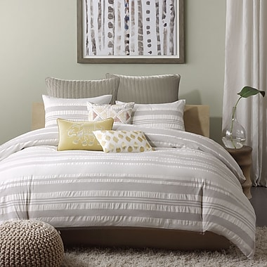 Ink + Ivy Lakeside 3 Piece Reversible Duvet Cover Set; Full / Queen