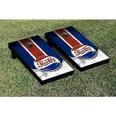 Victory Tailgate NCAA Pepsi Throwback Vintage Cornhole Game Set