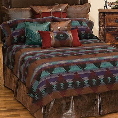 Wooded River Painted Desert II Coverlet Set; Full