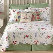 Laurel and Mayfair Marinella Quilt; Twin
