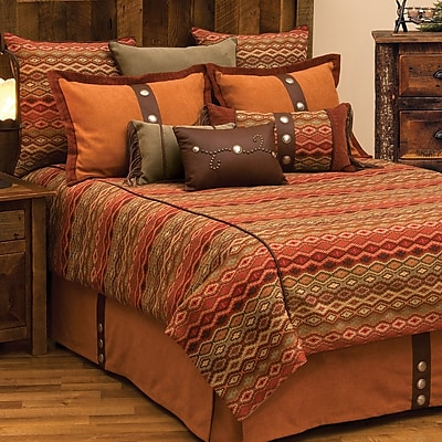Wooded River Marquise IV Duvet Cover; Super Queen
