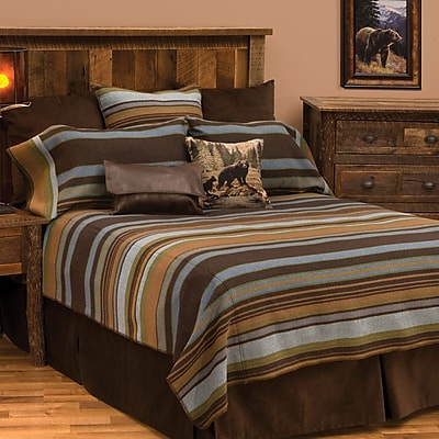Wooded River Hudson 7 Piece Coverlet Set; California King