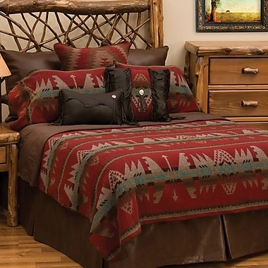 Wooded River Yellowstone II Coverlet Set; Super King