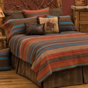 Wooded River Tombstone II Coverlet; King